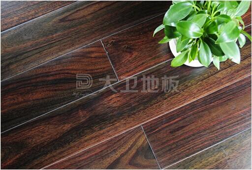 大卫地板23℃纯实木地热系列:阔叶黄檀(黑酸枝)