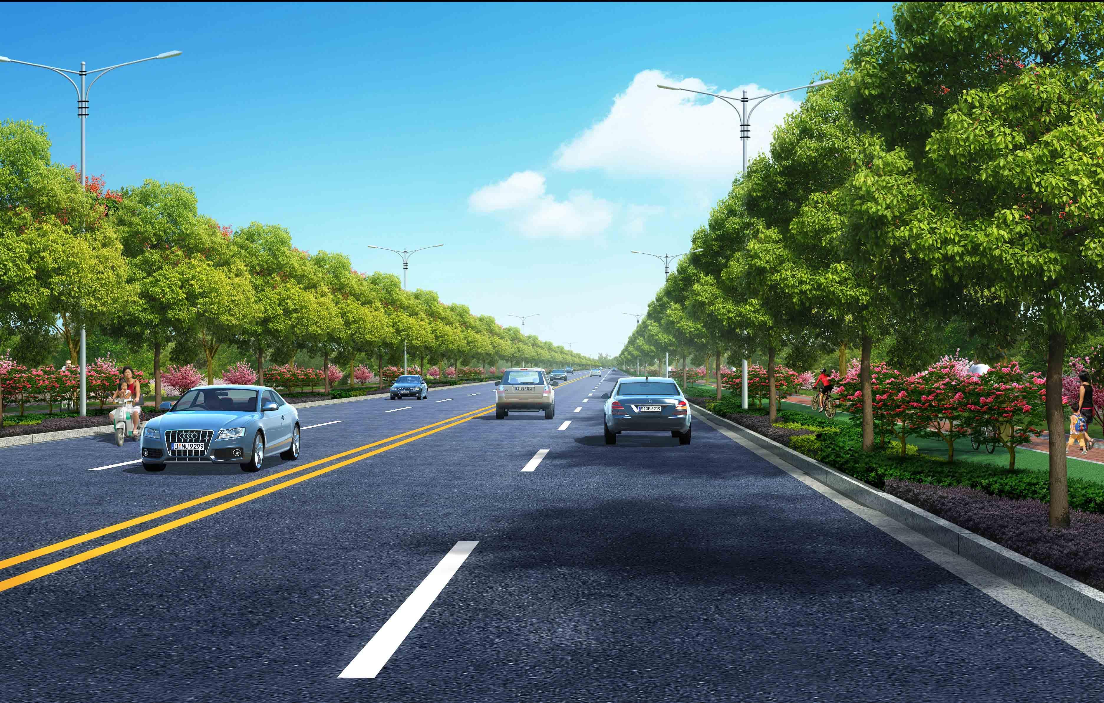 道路互通设计_道路清扫车设计_道路设计