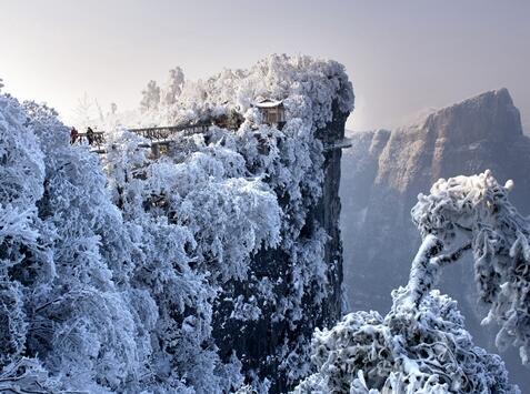 湖南风景图片冬天