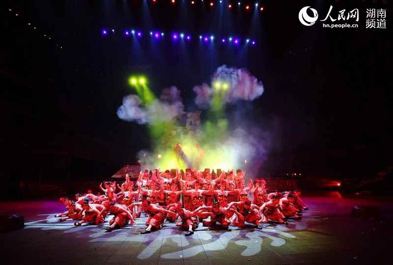 湖南凤凰:大型森林舞台剧《边城》复演