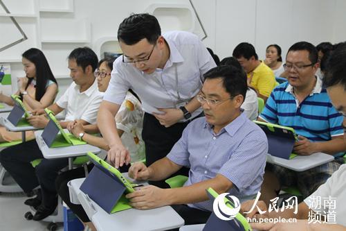 """湖南打造""""人工智能+教育""""系统 开创智慧课堂教学新方式"""