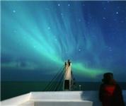 航行北极东北航道的中国商船驶离北冰洋
