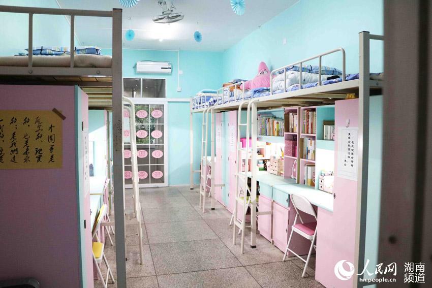 别人家的宿舍——湖南一高校学生打造高颜值宿舍