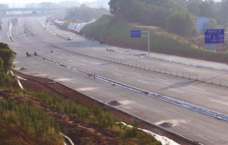 金阳大道长沙县段主体完工 预计年内通车