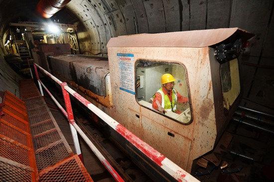 长沙地铁5号线安全穿越风险源西湖楼