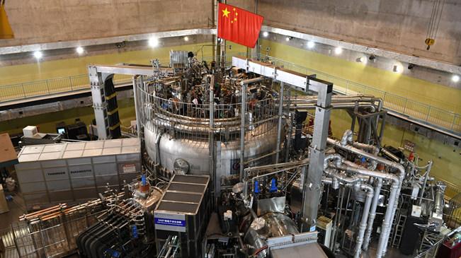 """我国""""人造太阳""""EAST装置实现1亿摄氏度等离子体运行"""