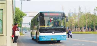 """长沙县城区柴油公交车""""清零"""""""