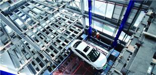 湘潭建成立体停车楼