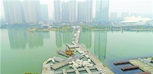 梅溪湖将增跨湖人行桥
