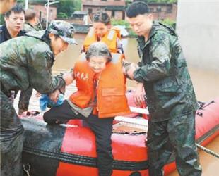临武遭遇严重洪灾
