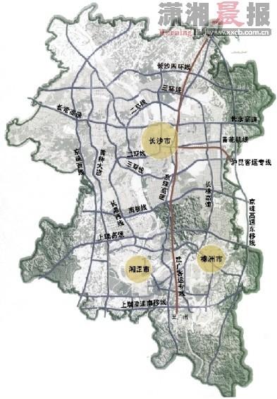 湖南湘潭昭山地图