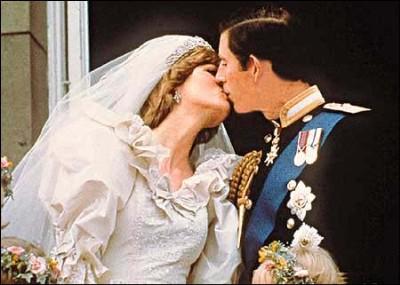 戴安娜王妃的世纪婚礼回顾 组图